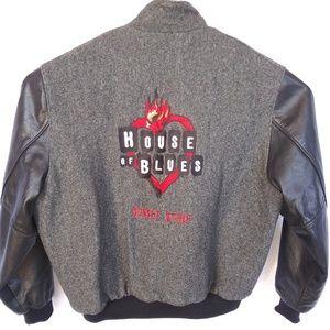 Vintage House Of Blues Bomber Jacket Wool
